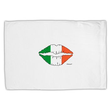 Irish Flag Kiss Standard Size Polyester Pillow Case by TooLoud