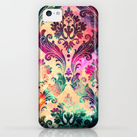 Emerald Galaxy Tapestry iPhone & iPod Case by TheLeb