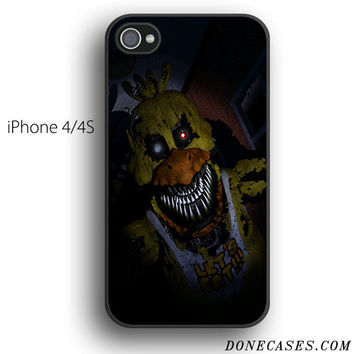 Nightmare Chica five nights at freddy's case for iPhone 4[S]