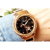 Omega simple female models personality vintage ceramic women's watch