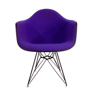 Alexander Girard Purple Eames Shell Chair Herman Miller Vintage