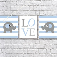 instant download elephant Nursery art print girl room Nursery wall decor Digital Download print baby nursery decor Kids art sky gray 8x10