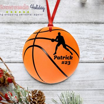 Basketball Player/Coach Ornament