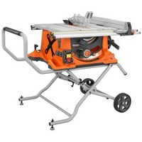 RIDGID, 15-Amp 10 in. Heavy-Duty Portable Table Saw with Stand, R4510 at The Home Depot - Tablet