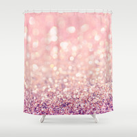 Blush Shower Curtain by Lisa Argyropoulos
