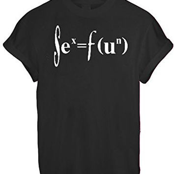 SIENCE CHEMISTRY MATHS FUN GEED NERD MEN WOMEN UNISEX T SHIRT TOP TEE NEW - Black