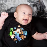 J!NX : Minecraft Run Away! Baby Creeper