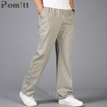Men Cargo Pants Spring Overall Plus Size XXXL 4XL 5XL 6XL Army Green Pant Workman Loose Khaki Trousers Man's Work Wear