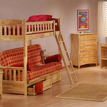 Bailey Futon Bunk Beds
