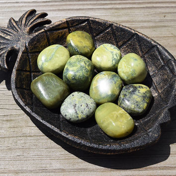 SERPENTINE Kundalini Activation Stone - Used in Tantric Yoga Practices - Awakening Enlightenment