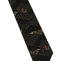 Frank Lloyd Wright Taliesin Silk Tie