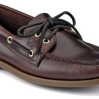 Sperry Top-Sider Authentic Original 2-Eye Boat Shoe Amaretto, Size 7.5W  Men's Shoes
