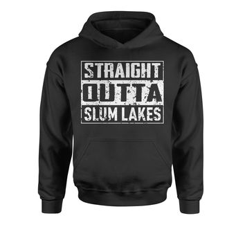 Straight Outta Slum Lakes Youth-Sized Hoodie