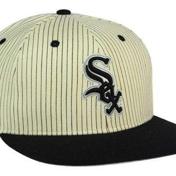 8109a7a4f34d4 Chicago White Sox  47 Woodside 47 Captain Snapback Cap