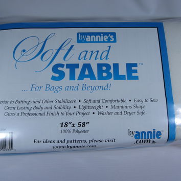 Soft and Stable by annie's 18 inches by 58 inches White