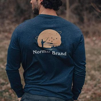 Fly Fishing Long Sleeve T-Shirt by The Normal Brand