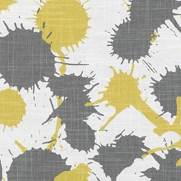 Duralee Fabric DE42603-6 Splatter Gold