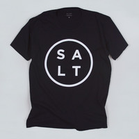 SALT SURF — Logo Tee - Black