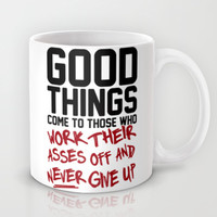 Good Things Mug by LookHUMAN