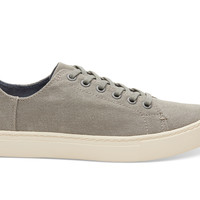 DRIZZLE GREY WASHED WOMEN'S LENOX SNEAKERS