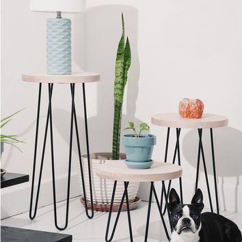 Classic Hairpin Leg Side Table