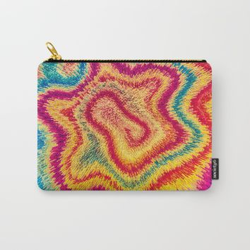 My Modern Tie-dye Carry-All Pouch by Badbugs_art