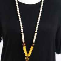 The Whitney Necklace - Yellow