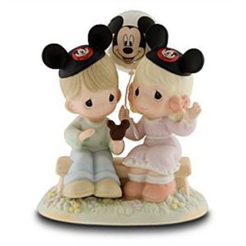 ''Happiness is Best Shared Together'' Figurine by Precious Moments | Disney Store
