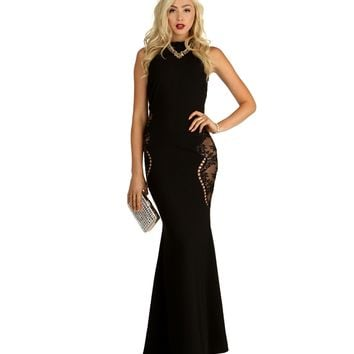 Minka-black Prom Dress