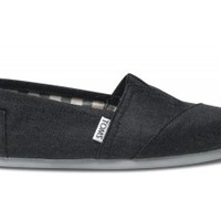 TOMS Earthwise Slate Women's Vegan Classics Slip-on Shoes ,