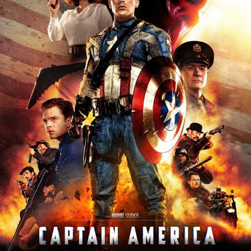 Captain America: The First Avenger 11x17 Movie Poster (2011)