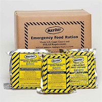 MAYDAY FOOD BAR 2400 CALORIE ENERGY SURVIVAL RATION MEAL CAMPING EMERGENCY BOB