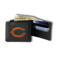 Chicago Bears NFL Embroidered Billfold Wallet