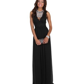 Robin- Black Prom Dress