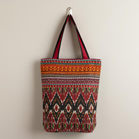 Tribal Ikat Tote - World Market
