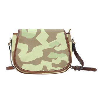 Women Shoulder Bag Special Forces Camouflage Saddle Bag Large