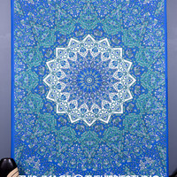 Psychedelic Hippie Tapestries, Mandala Tapestries, Tapestry Wall Hanging, Bohemian Wall Tapestries, Boho Dorm Tapestries, Indian Tapestries