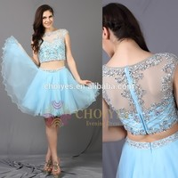 TB62635 NEW Brand Beautiful Short Puffy Two Piece Prom Dress, View prom dress, Choiyes Evening Dress Product Details from Chaozhou Choiyes Evening Dress Co., Ltd. on Alibaba.com