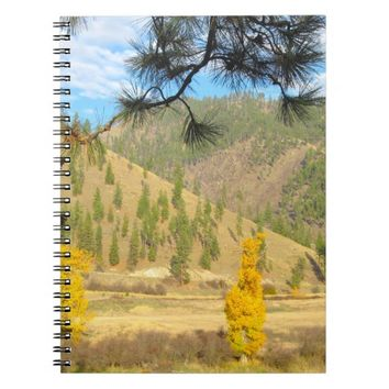 Pretty Scenery Notebook