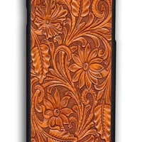 Carved Wood for Iphone 6 Hard Cover Plastic
