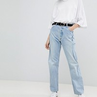 Reclaimed Vintage Revived Re-Work Jeans at asos.com