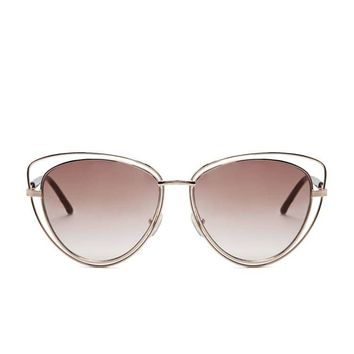 Wire Cateye Sunglasses