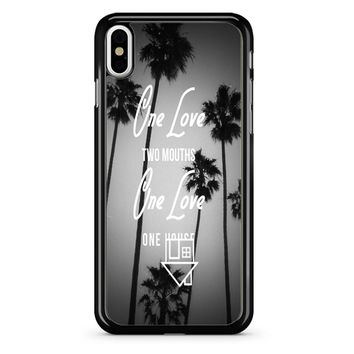 The Neighbourhood Quote iPhone X Case