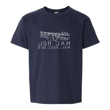 Jon Jam Short Sleeve Youth Tee