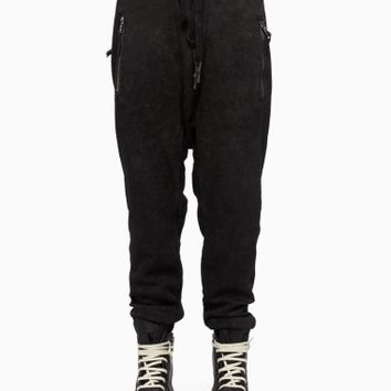 Black snow pants from the F/W2015-16 Boris Bidjan Saberi 11 collection in black