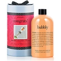 congrats | bubbly shampoo, bath and shower gel | philosophy bath & body value sets