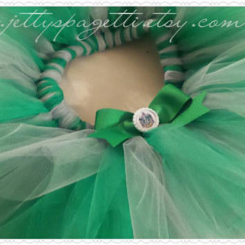 Slytherin Hogwarts Harry Potter Inspired Tutu Inspired  Boutique Costume Tutu-children-adult-running
