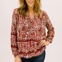 Rosemary Button Blouse