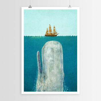 Terry Fan's The Whale POSTER