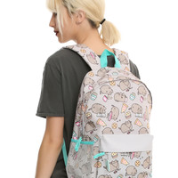 Pusheen Chillin & Snackin Print Backpack